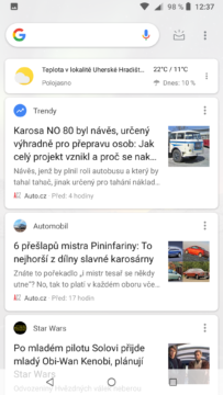 Nokia 6.1 google now