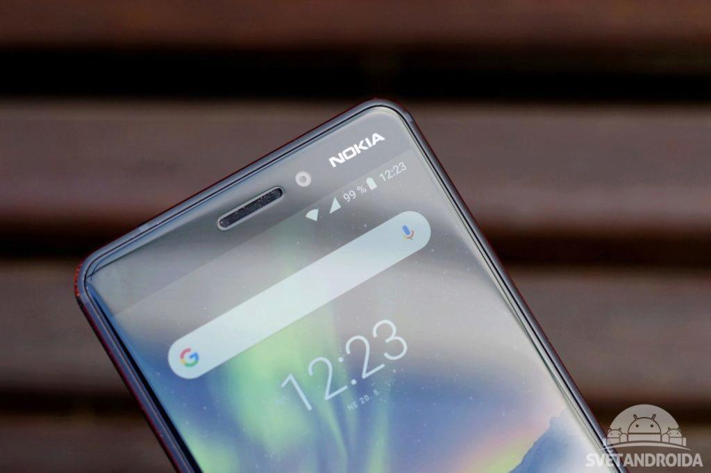 Nokia 6.1 predni strana