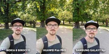 Jak fotí Samsung Galaxy S9+? selfie