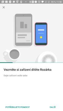 Průvodce připojením Google Family Link