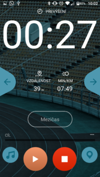 Silvercrest Fitness android aplikace
