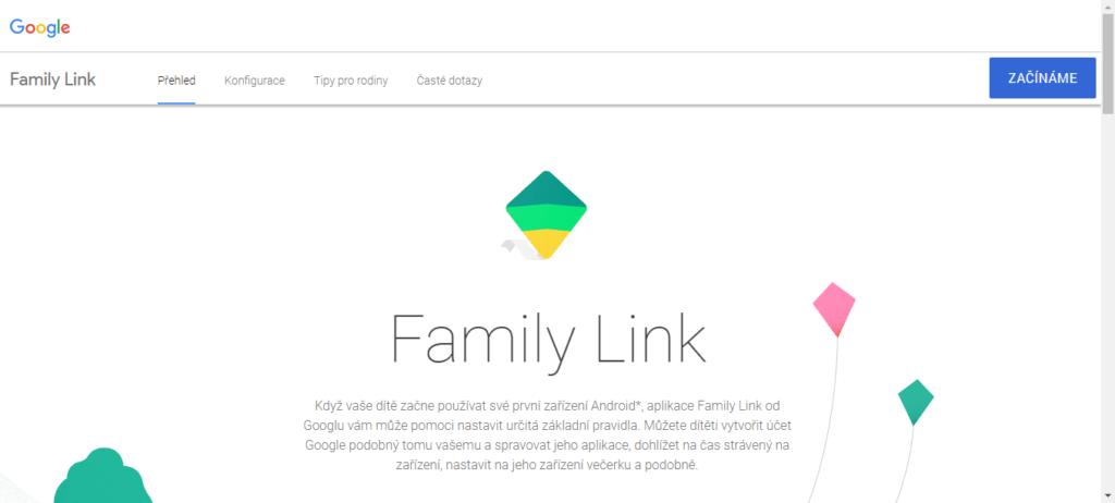 Služba Google Family Link