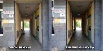 který mobil má nejlepší fotoaparát? Samsung Galaxy S9 plus vs Xiaomi Mi Mix 2S - podchod