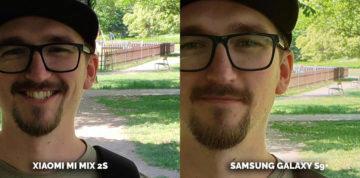 Nejlepší fotomobil 2018 - Samsung Galaxy S9 vs. Xiaomi Mi Mix 2S - obličej