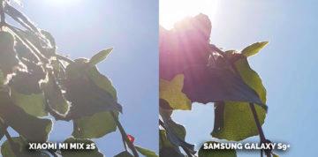 srovnání fotoaparátu Samsung Xiaomi