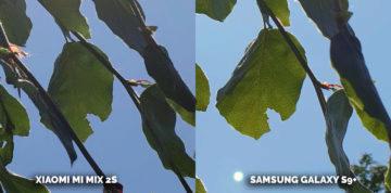Mobil s kvalitním fotoaparátem Xiaomi Mi Mix 2S vs Samsung Galaxy S9+ - list