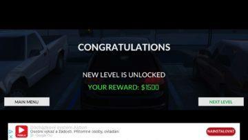 Za splněný level dostanete odměnu Real Car Parking 2