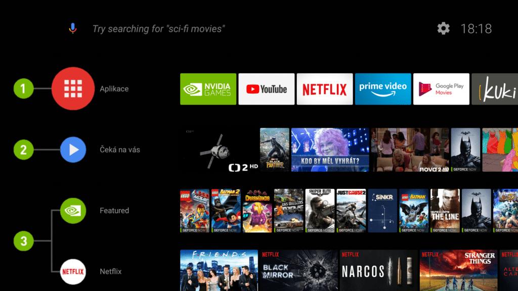 android 8 oreo na shield tv nova domovska obrazovka