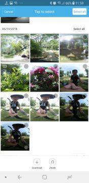 android aplikace 360 kamera xiaomi