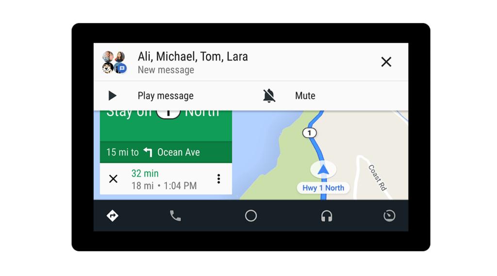 android auto novinky google