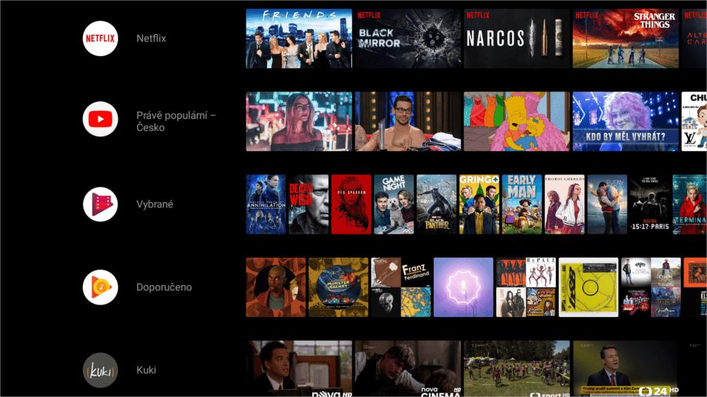 aplikace android 8 oreo nvidia shield tv