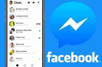 Aplikace Facebook Messenger v novém: První obrázky zjednodušené verze
