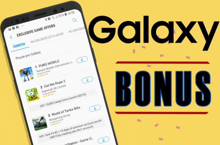 bonusy do android her galaxy apps samsung