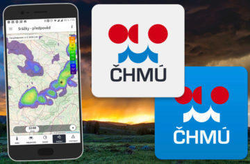 ČHMÚ vydal dvě nové meteorologické aplikace. Co umí?
