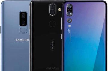 Fototest Nokia 8 Sirocco vs Samsung Galaxy S9+ vs Huawei P20 Pro