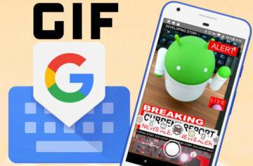 Klávesnice Gboard dostává novou funkci: Vytvořte si vlastní GIF obrázky