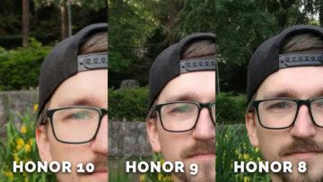honor 10 fotí skvěle - selfie detail