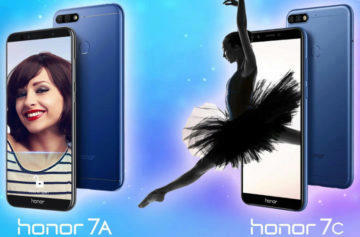 Honor 7A a Honor 7C oficiálně: Levné mobily s duálním fotoaparátem