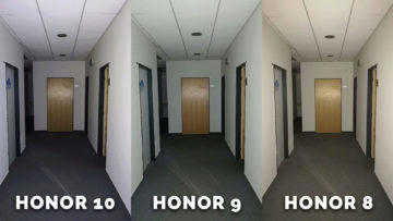 honor 8 vs honor 9 vs honor 10 - chodba