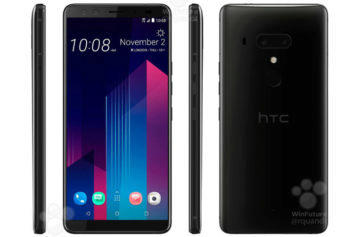 Specifikace HTC U12+ odhaleny: Vlajkový model se vším všudy