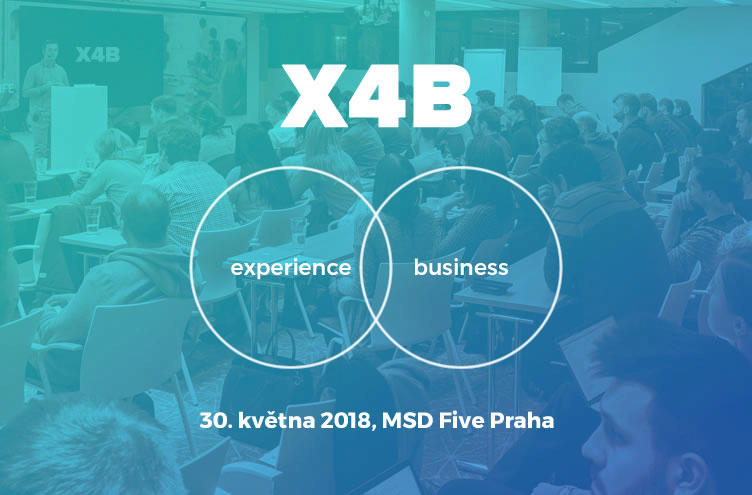 konference X4B inspirace UX