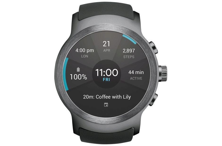 lg watch sport wear os chytre hodinky