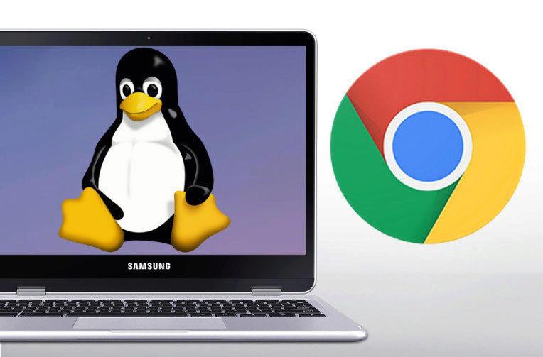 linux aplikace chrome os