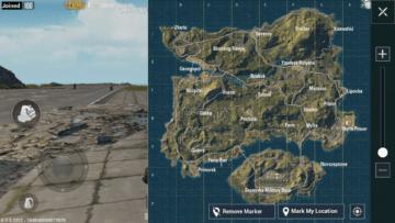 mapa erangel pubg mobile