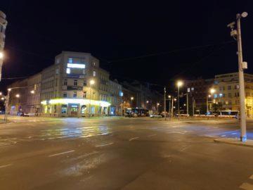 nocni ulice fotografie test mi mix 2S