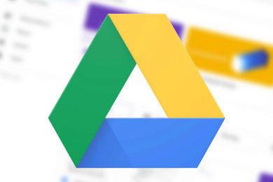 novy design google disk g suite