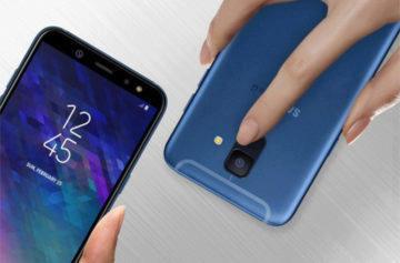 Telefony Samsung Galaxy A6 a A6+ představeny: Infinity displej, duální fotoaparát a kov