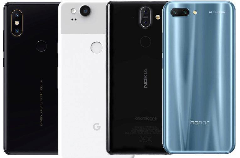 srovnani fotoaparatu v mobilech honor 10 xiaomi mi mix 2S Google Pixel 2 nokia 8 sirocco