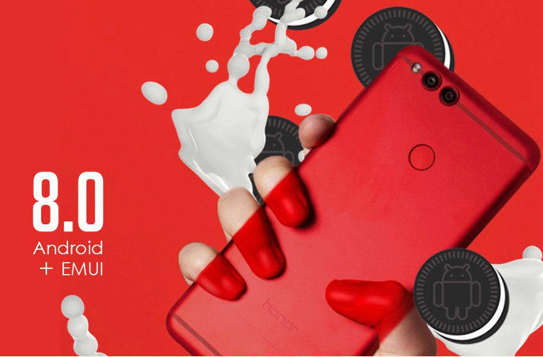 telefon honor 7x android 8 oreo aktualizace