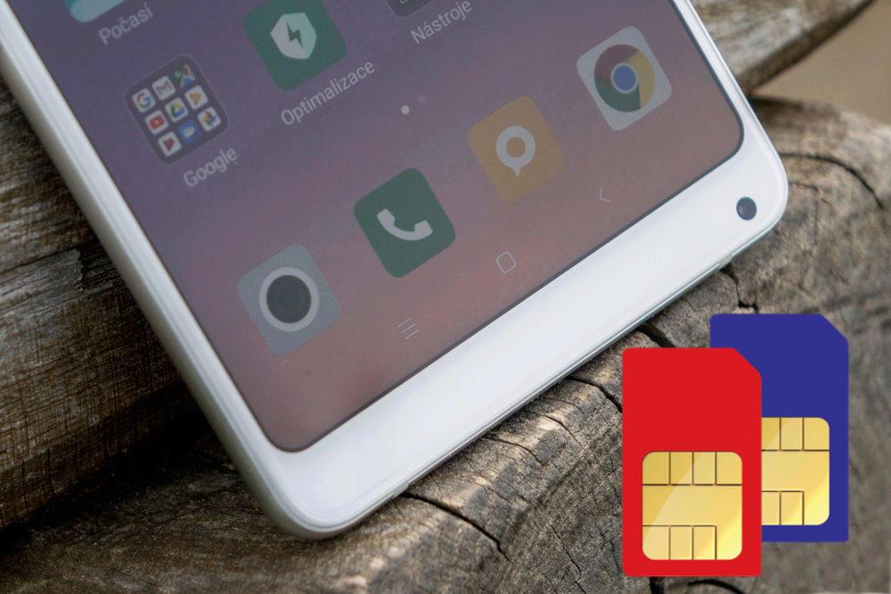Xiaomi Mi Mix 2S bez problémů zvládá Dual SIM i české LTE v pásmech B20 i těch dalších