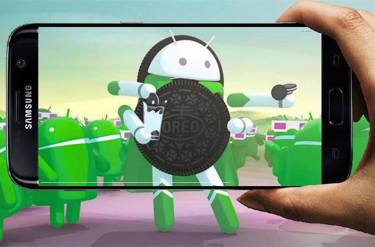 telefony samsung galaxy s7 android 8 oreo aktualizace