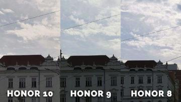 testovani fotomobilu honor - obloha a domy