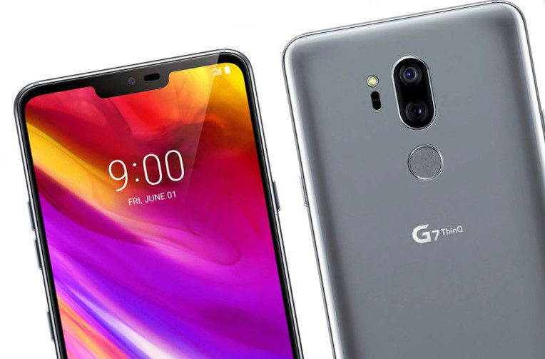 vyrez displeje lg g7 thinq apple iphone x