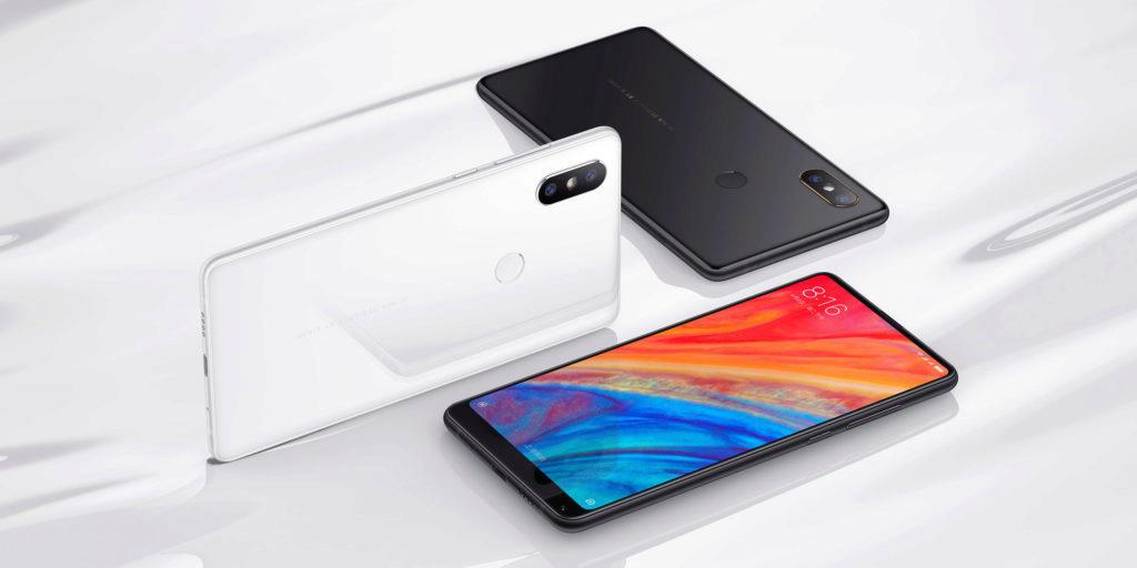 Xiaomi Mi Mix 2S koupíte v bílé nebo černé variantě