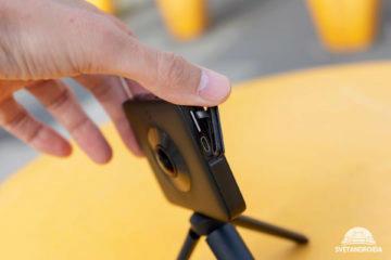 Sloty na microSD kartu a microUSB jsou u Mi Sphere schované