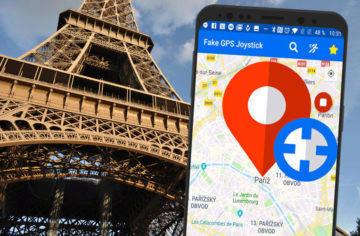 Aplikace Fake GPS Joystick umí falšovat polohu, včetně chůze či jízdy