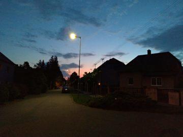 Asus ZenFone 5 nocni fotografie