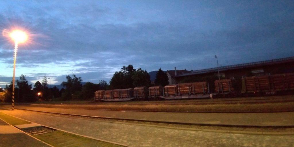 Asus ZenFone fotografie nocni sirokouhla fotografie