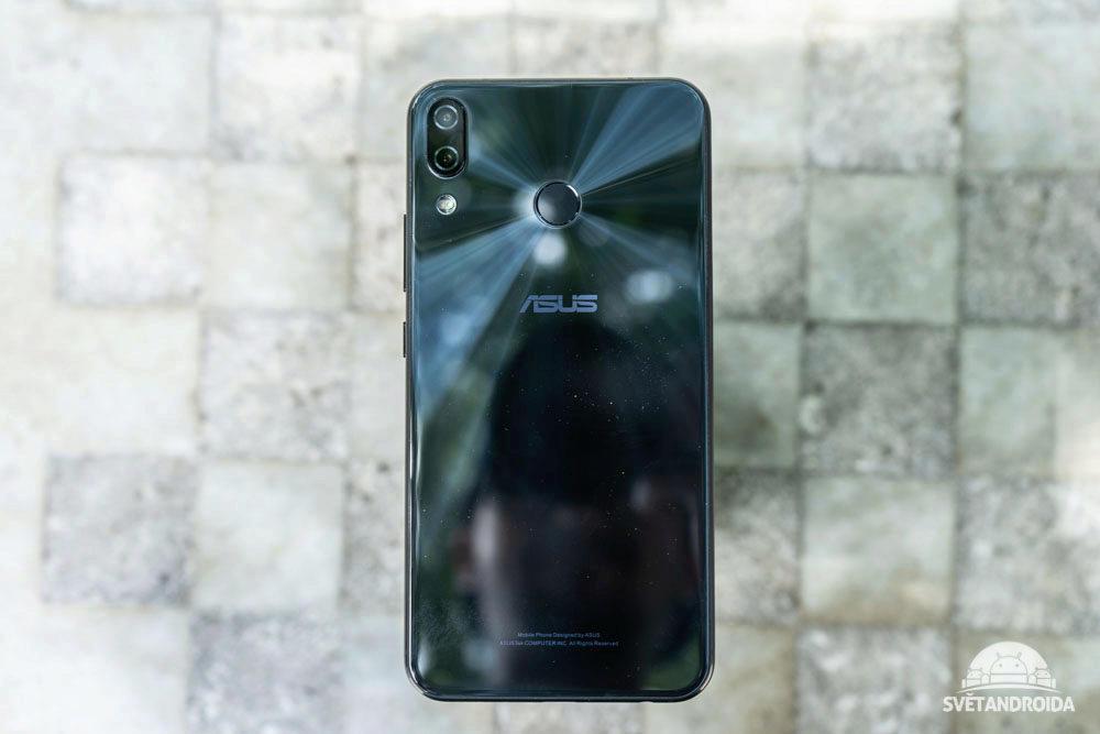 Asus Zenfone 5 fotoaparat
