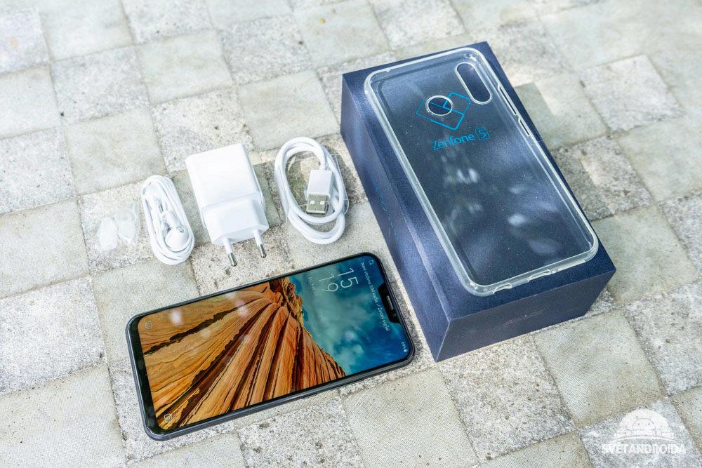 Asus Zenfone 5 obsah baleni