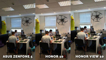 Asus Zenfone 5 vs. Honor 10 vs. Honor View 10 testovani fotaku - redakce