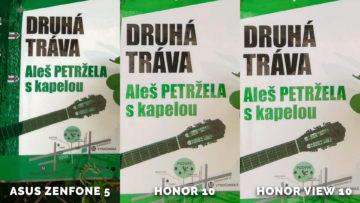 porovnani fotek Asus Zenfone 5 vs. Honor 10 vs. Honor View 10 - tráva