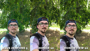 Portret test - Asus Zenfone 5 vs. Honor 10 vs. Honor View 10