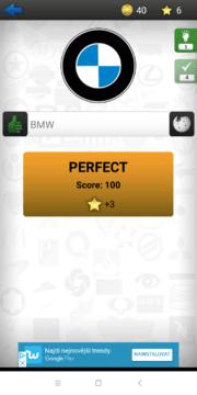 BMW jsme uhodli Logo Quiz Ultimate