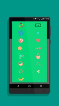 Výběr z mnoha animovaných ikon