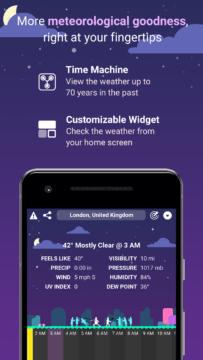 CARROT Weather aplikace